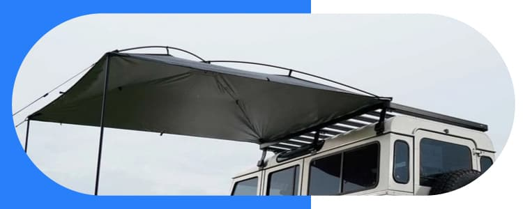 Mount An Awning Without A Roof Rack Service